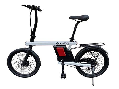 GermanXia 20' E-Bike Faltrad 19kg, Urban 250W Klapprad, 36V,...