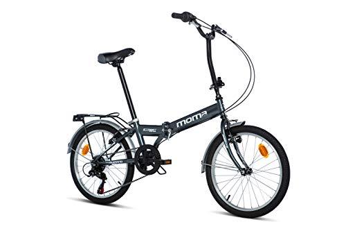 Moma Bikes Unisex-Adult Faltbares Fahrrad, Street, Shimano...