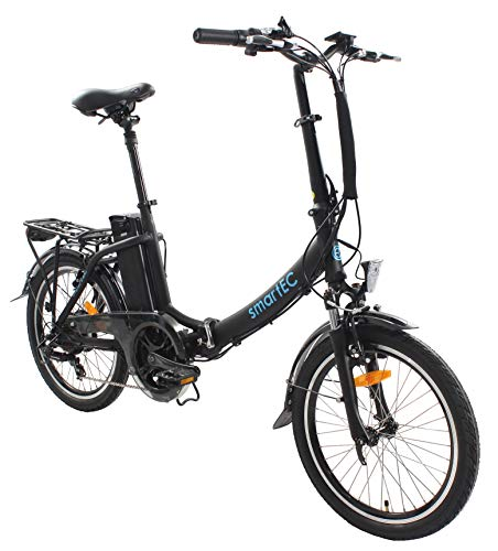 smartEC Camp-20D Klapprad E-Bike, 20 Zoll, Anfahrhilfe, 7...
