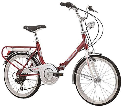 Klapprad Faltrad Florence Old Style 20 Zoll 6 Gang Shimano...