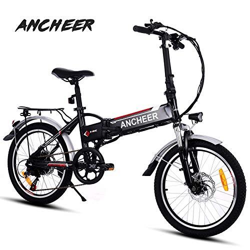 ANCHEER Elektrofahrrad, Faltbares E-Bike für Erwachsene,...