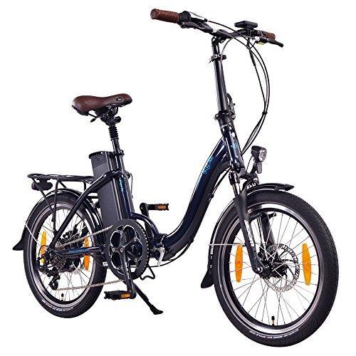 "NCM Paris 20"" E-Bike, E-Faltrad, 36V 15Ah 540Wh Dunkel..."