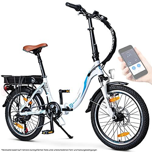 BLUEWHEEL 20' klappbares E-Bike I Deutsche Qualitätsmarke I...