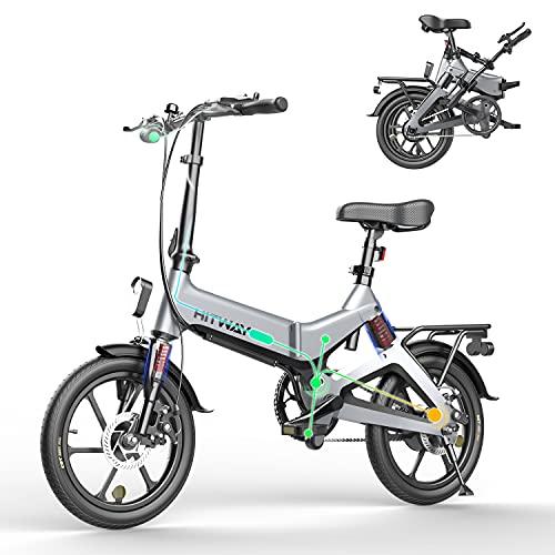 HITWAY Elektrofahrräder E Bike Elektrofahrrad Klapprad...