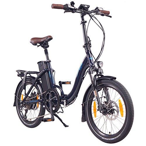 "NCM Paris+ 20"" E-Bike, E-Faltrad, 36V 19Ah 684Wh Dunkel..."