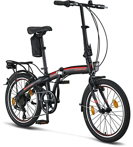 Licorne Bike CONSERES Premium Faltrad, Klapprad in 20 Zoll -...