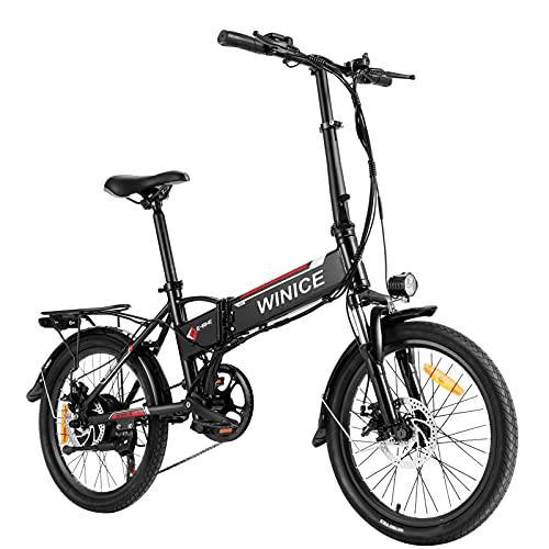 VIVI E-Bike Klapprad, 20' Elektrofahrrad, 350W Citybike...