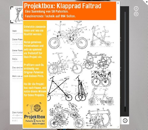 Klapprad Faltrad: Deine Projektbox inkl. 59...