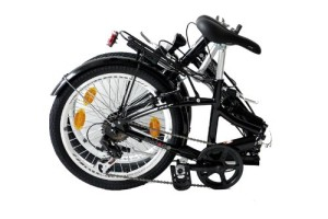 Foldo Citybike zusammengeklappt