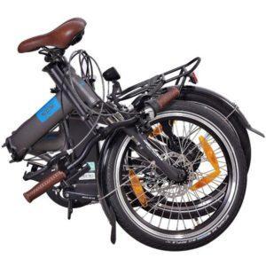 NCM London Faltrad zusammengeklappt