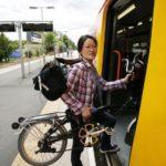 Faltrad und Klapprad in Bahn, Zug und Bus